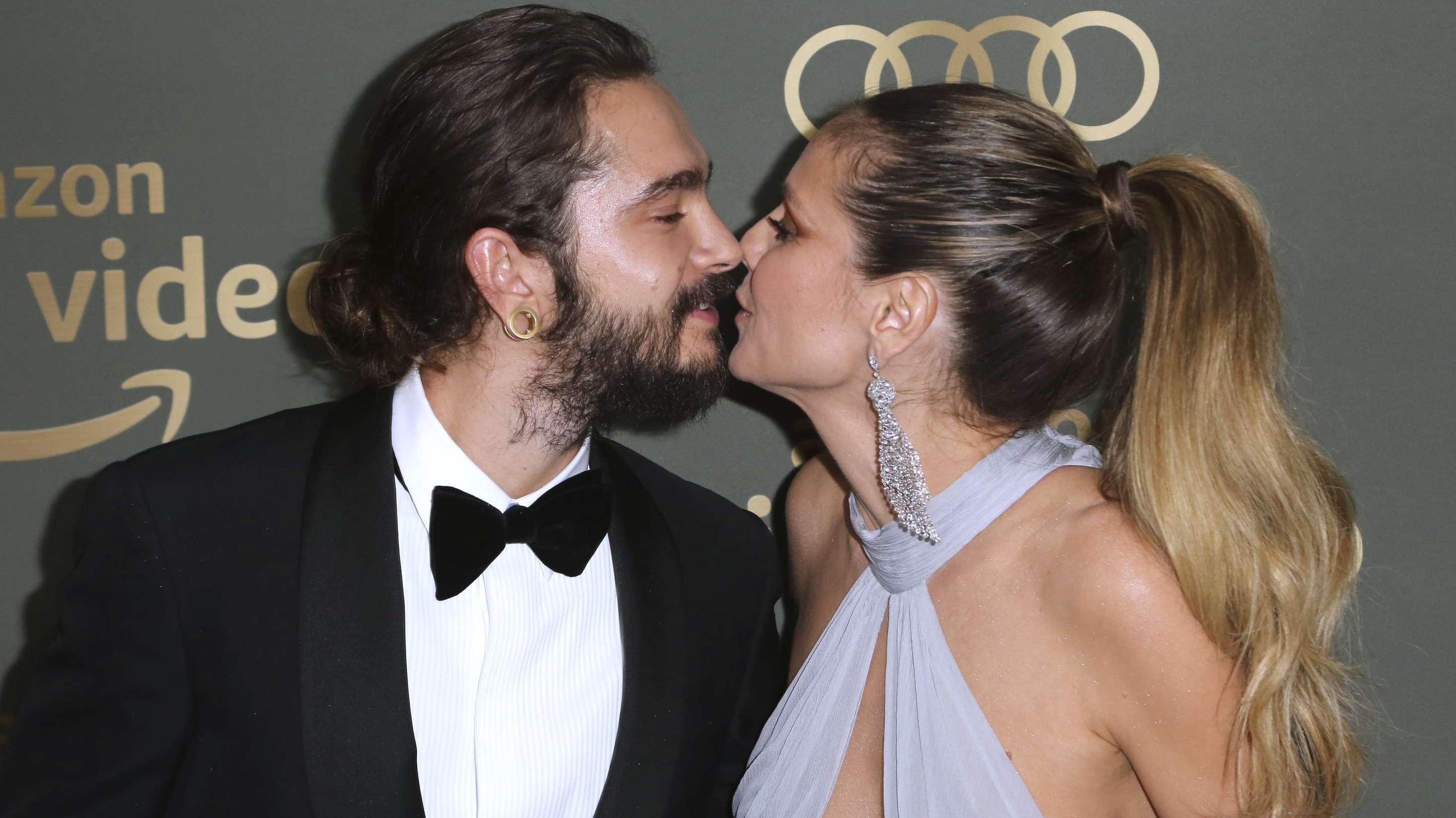 Tom Kaulitz und Heidi Klum bei der Amazon Golden Globes Afterparty 2019
