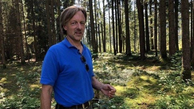 Helmut Gattinger ist Förster.