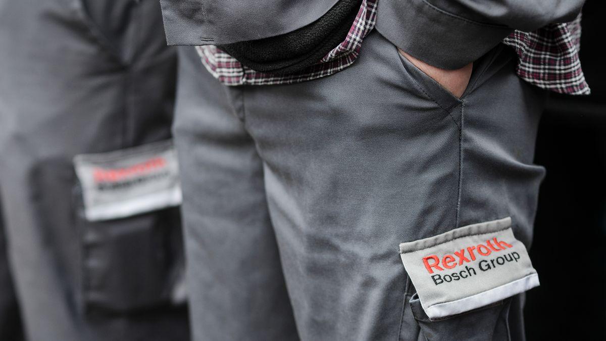 """Arbeitskleidung mit Stick """"Rexroth Bosch Group"""""""