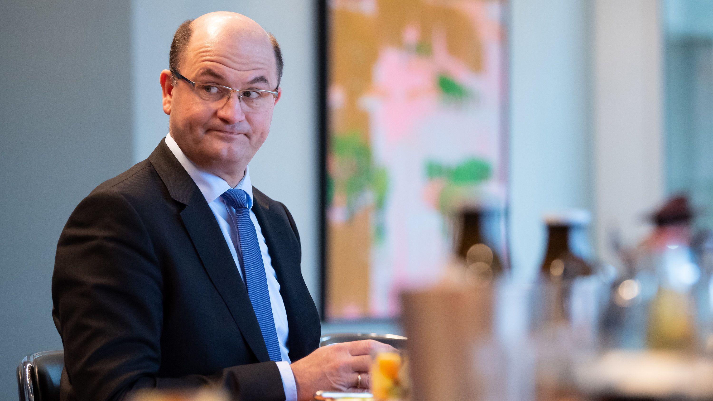 Bayerns Finanzminister Albert Füracker (CSU) ist optimistisch: Der Freistaat steht auch in der Corona-Krise finanziell gut da.