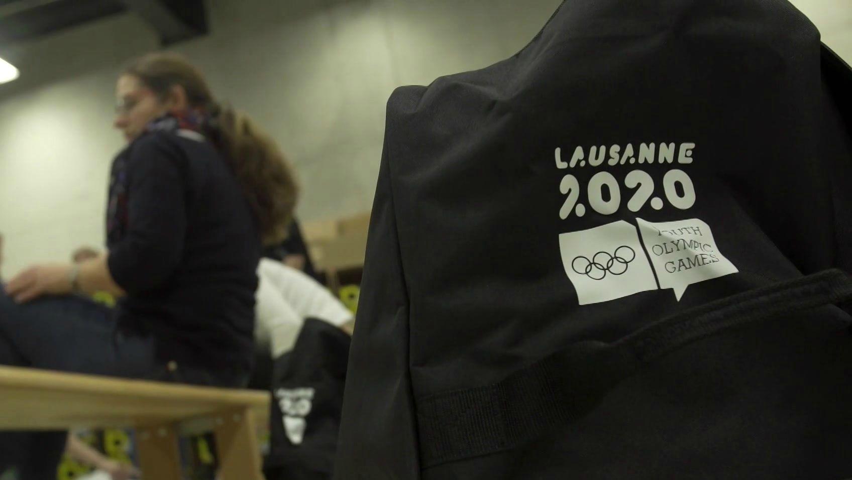 Einkleidung für die Youth Olympic Games