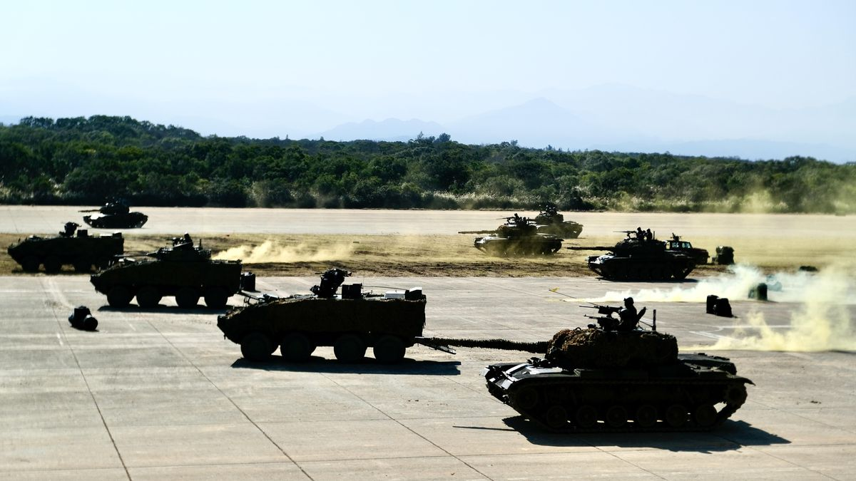 Militärübung in Taiwan