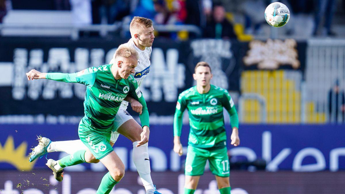 SV Sandhausen - SpVgg Greuther Fürth
