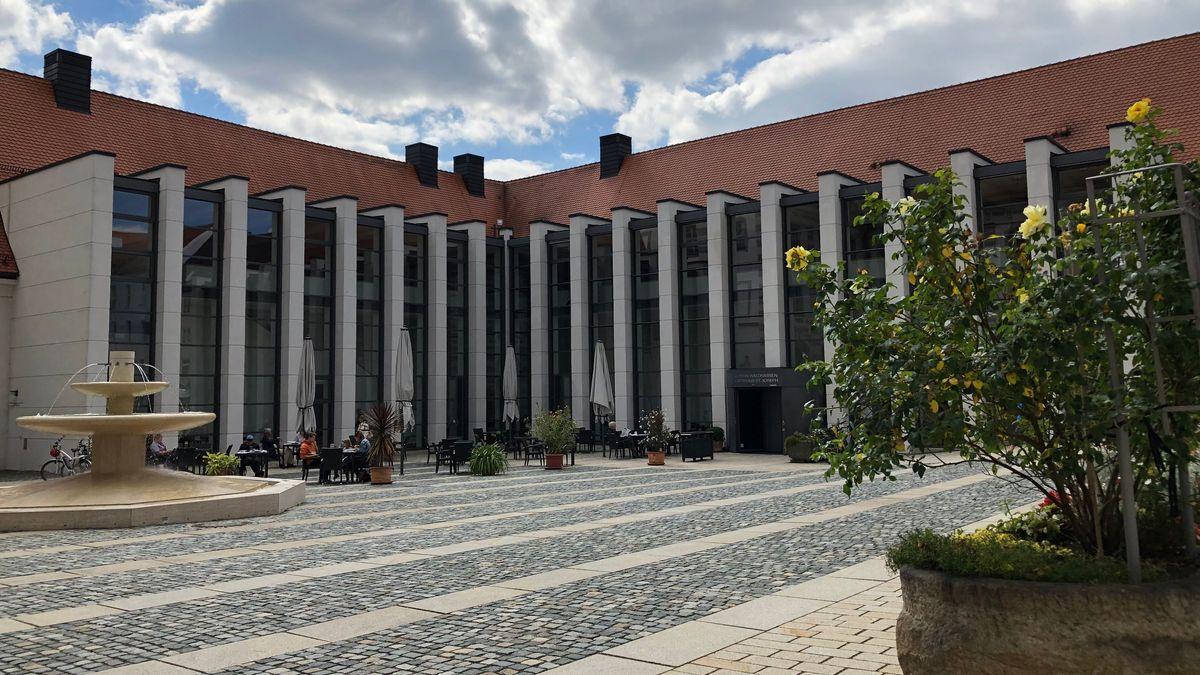 Das moderne Kloster-Gebäude in Waldsassen