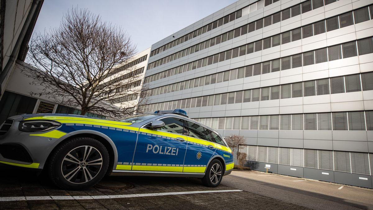 Polizei bei Lidl in Neckarsulm