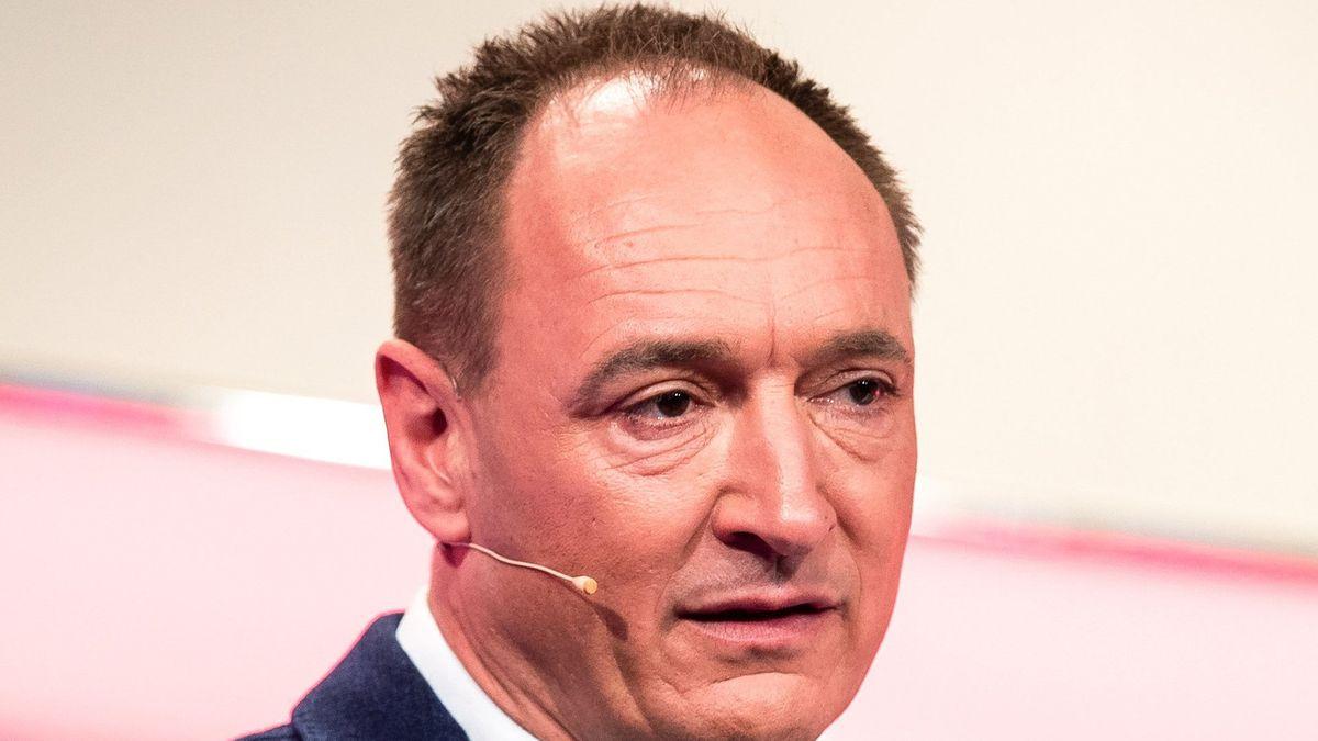 Vorstandschef Max Conze bei der Bilanz-Pressekonferenz 2019