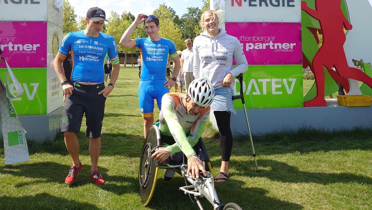 Triathlon Staffel in Roth