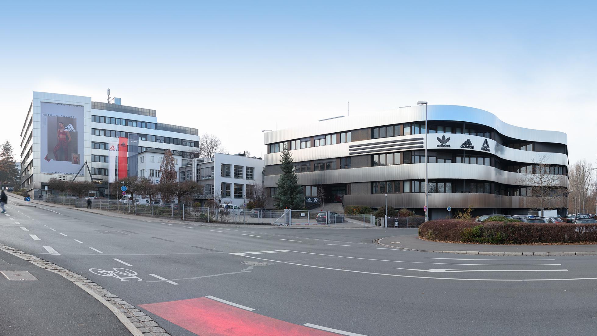 Bürogebäude am Adi-Dassler-Platz in Herzogenaurach