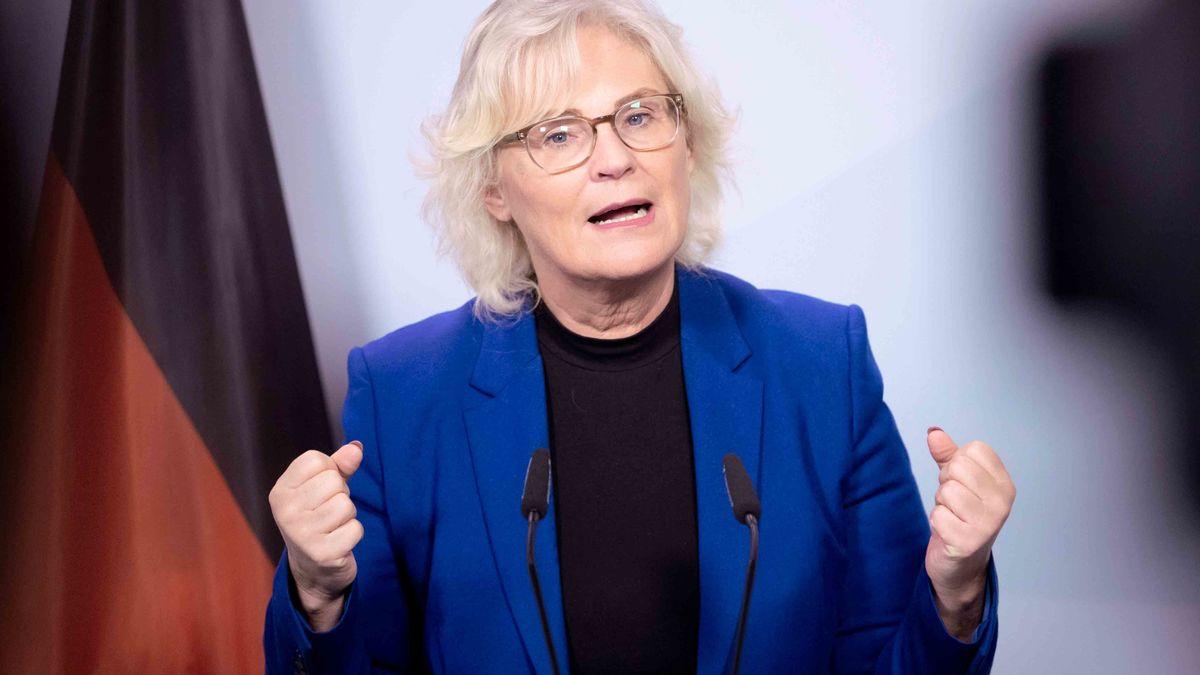 Justizministerin Christine Lambrecht (SPD).