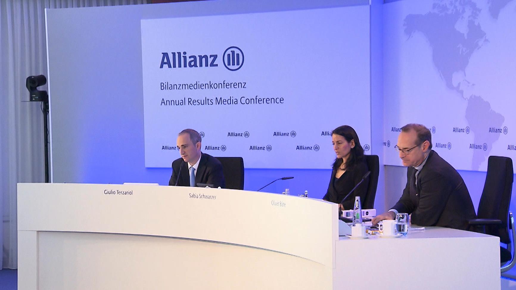 Bilanz-PK der Allianz