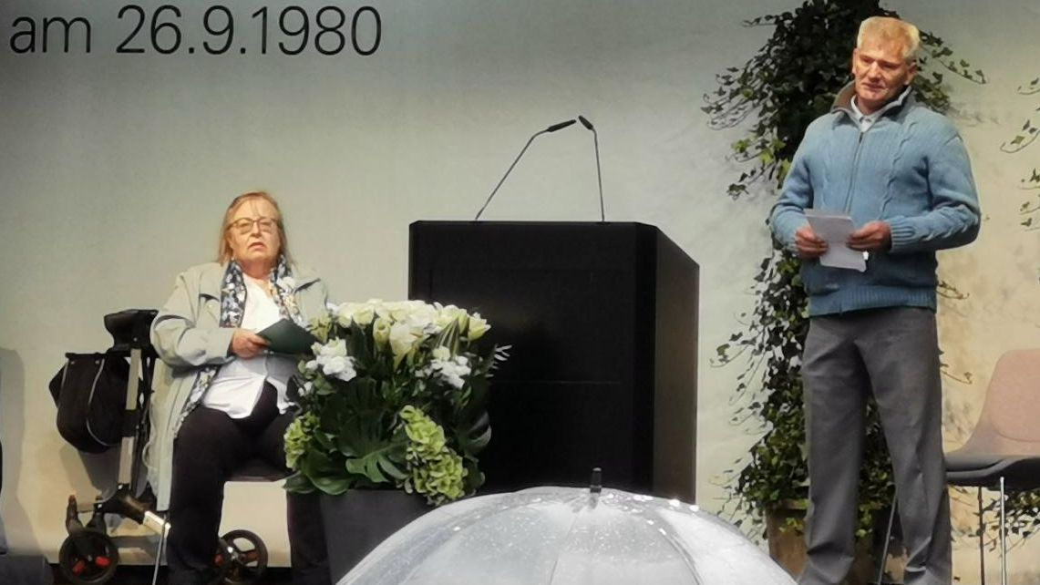 Renate Martinez und Robert Höckmayr