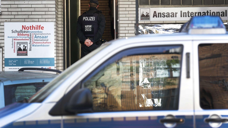 10.4.2019: Razzia gegen ein islamistisches Netzwerk (hier: in Düsseldorf)