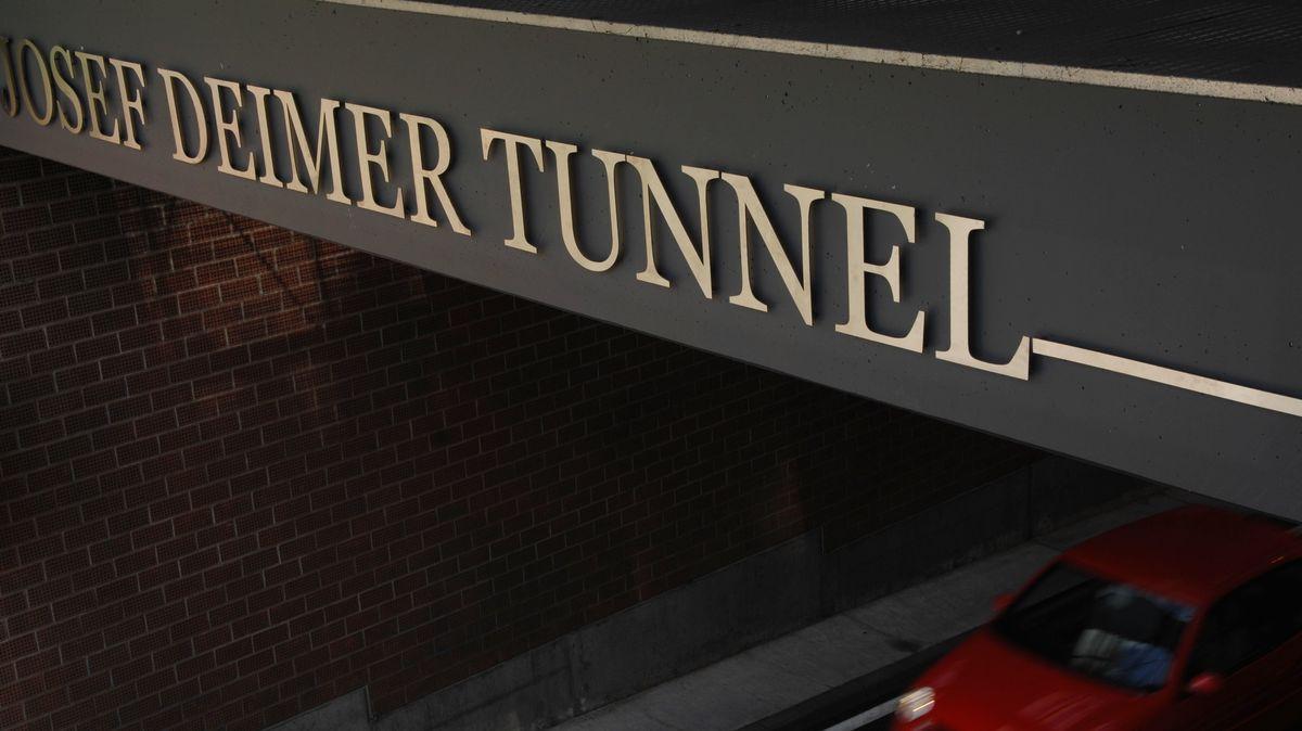 Der Josef-Deimer-Tunnel Landshut