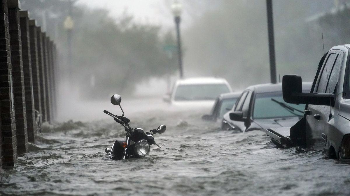 """Überschwemmung nach Hurrikan """"Sally"""""""