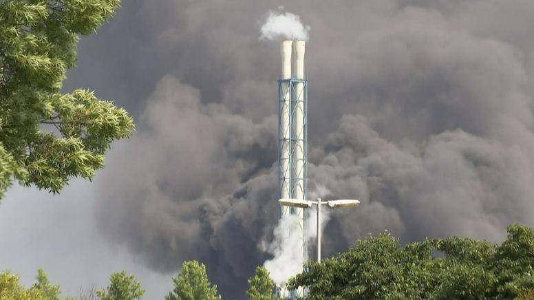 Chemiefabrik in Leverkusen   Bild:BR
