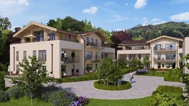 Simulation der Planungen für die Villa Schön in Berchtesgaden