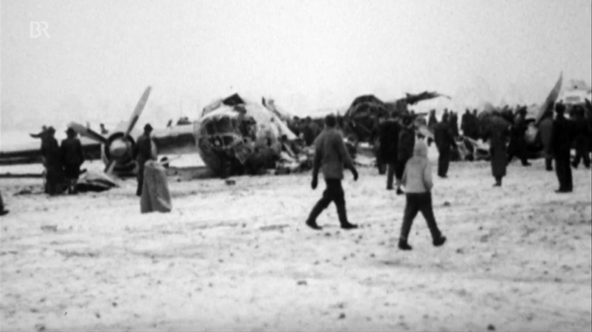 Flugzeugabsturz in München : Schwarzer Tag für Manchester United