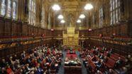 Großbritannien, London: Gesamtansicht des britischen Oberhauses, dem House of Lords. | Bild:dpa-Bildfunk
