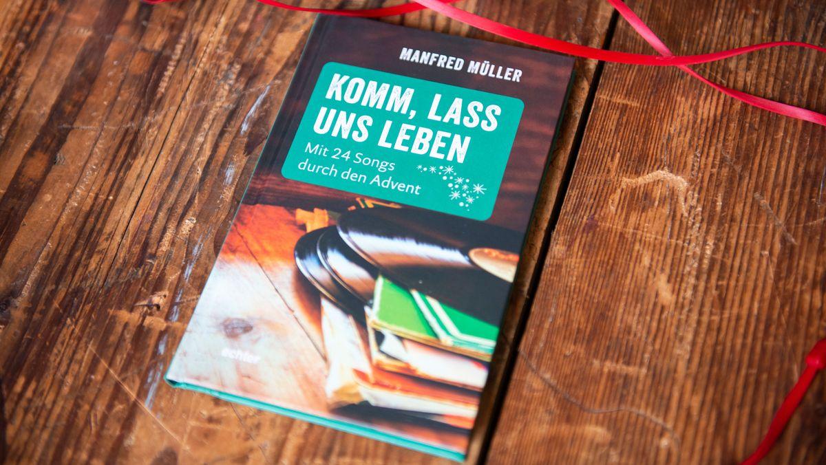 """Buch-Cover """"Komm, lass uns leben – mit 24 Songs durch den Advent"""