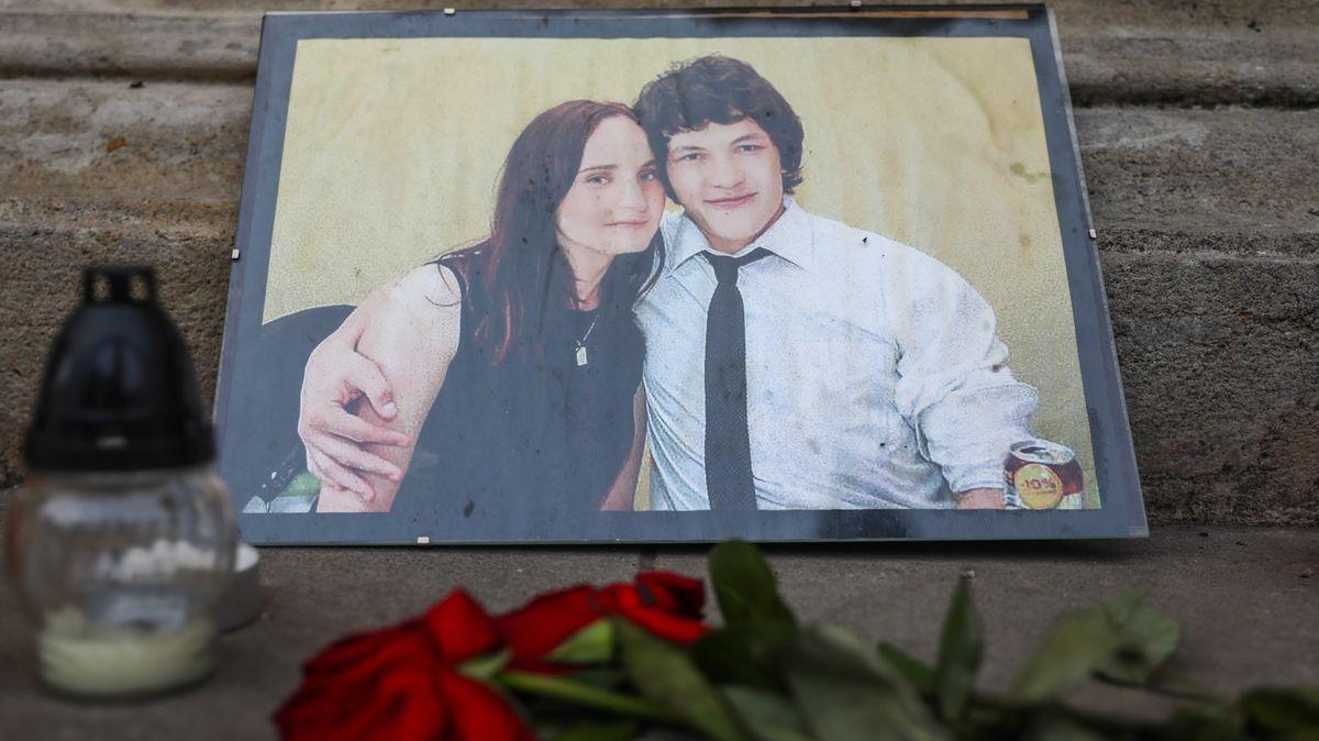 Der getötete slowakische Journalist Jan Kuciak mit seiner Freundin