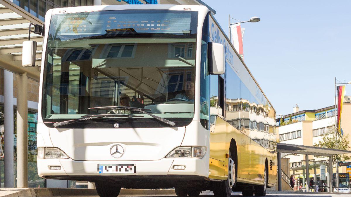 Ein Stadtbus in Bayreuth