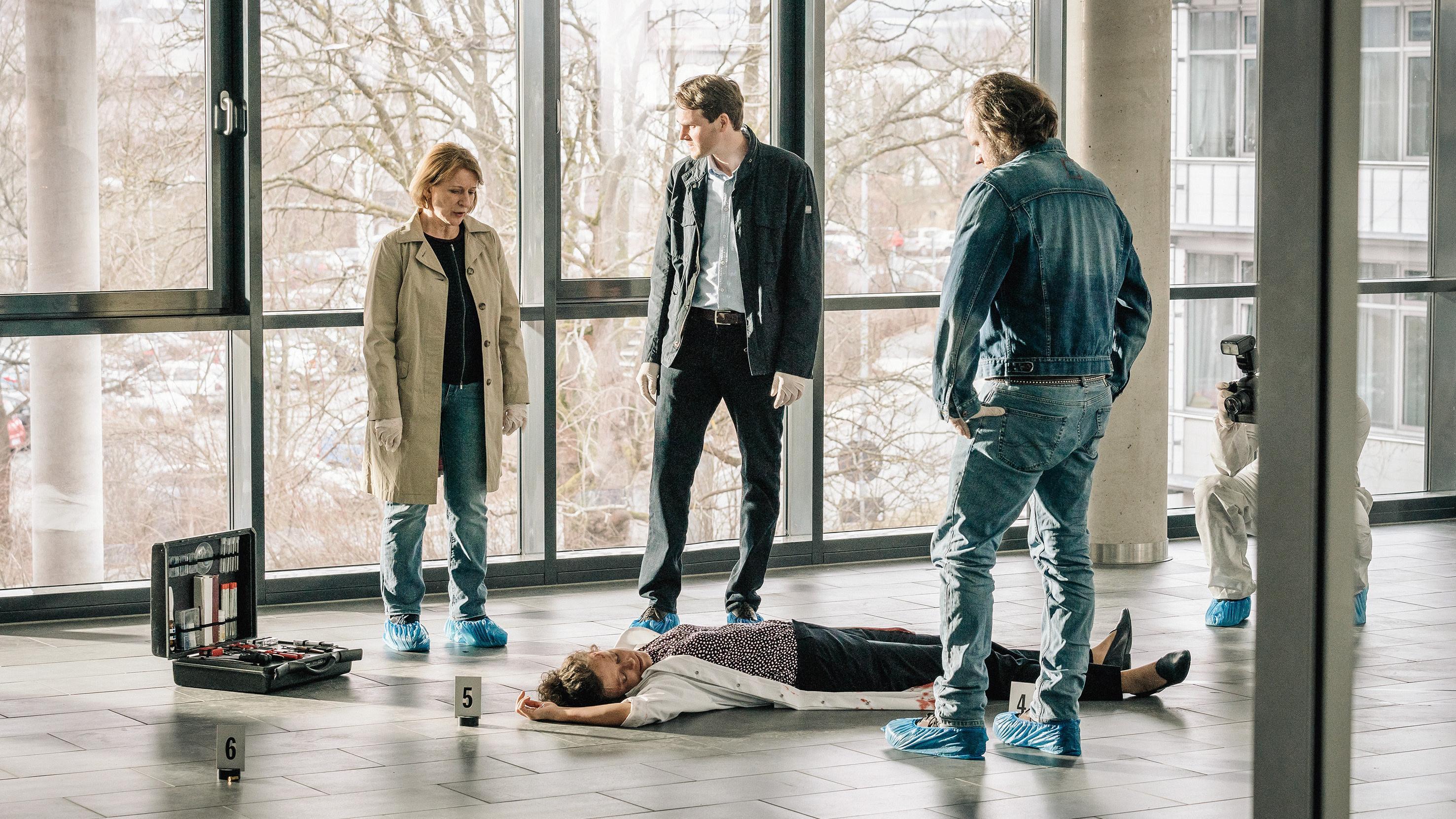"""Filmszene aus dem Franken-Tatort """"Ein Tag wie jeder andere"""""""