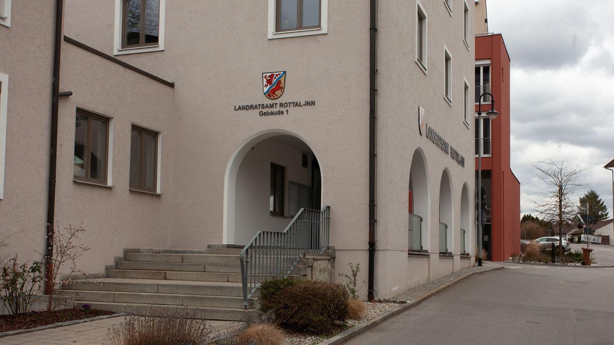 Das Landratsamt Rottal-Inn in Pfarrkirchen