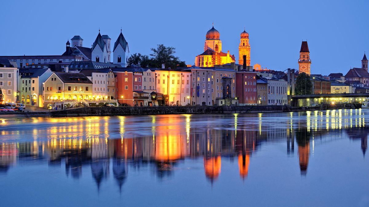 Abendstimmung in Passau