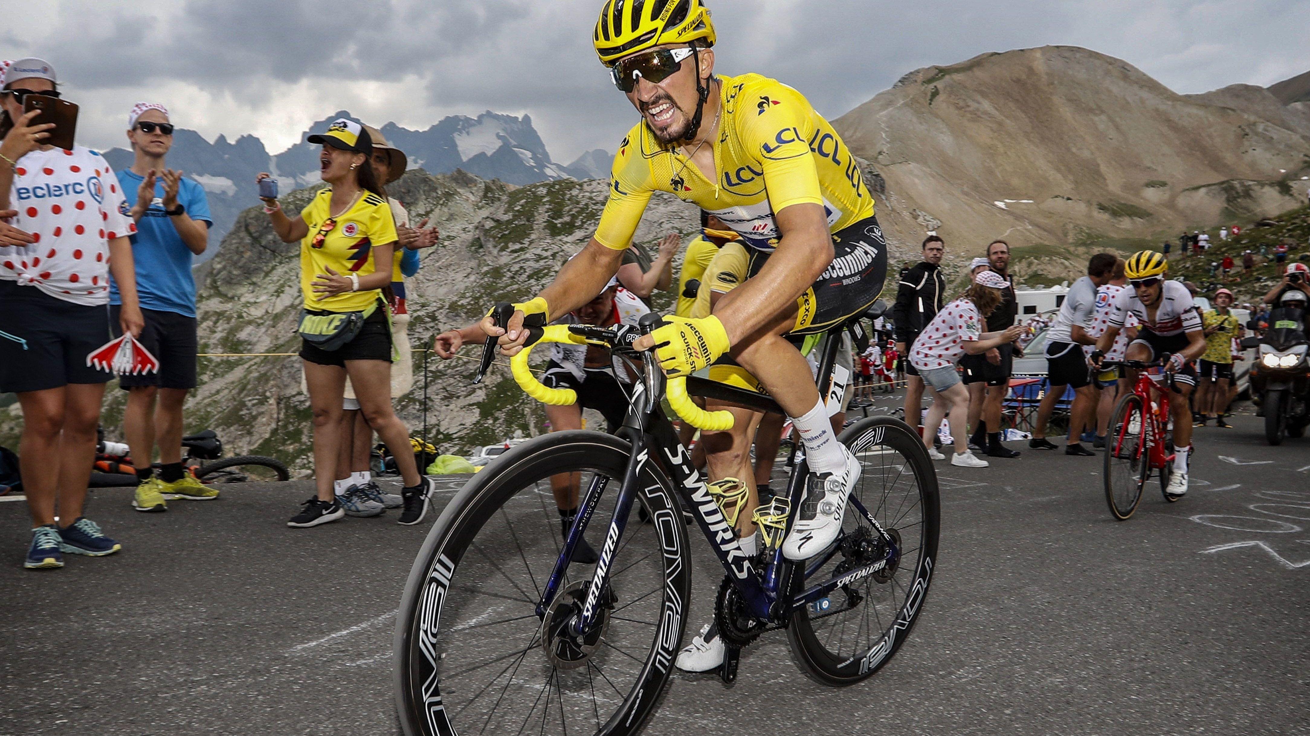 Julian Alaphilippe bei der Tour de France
