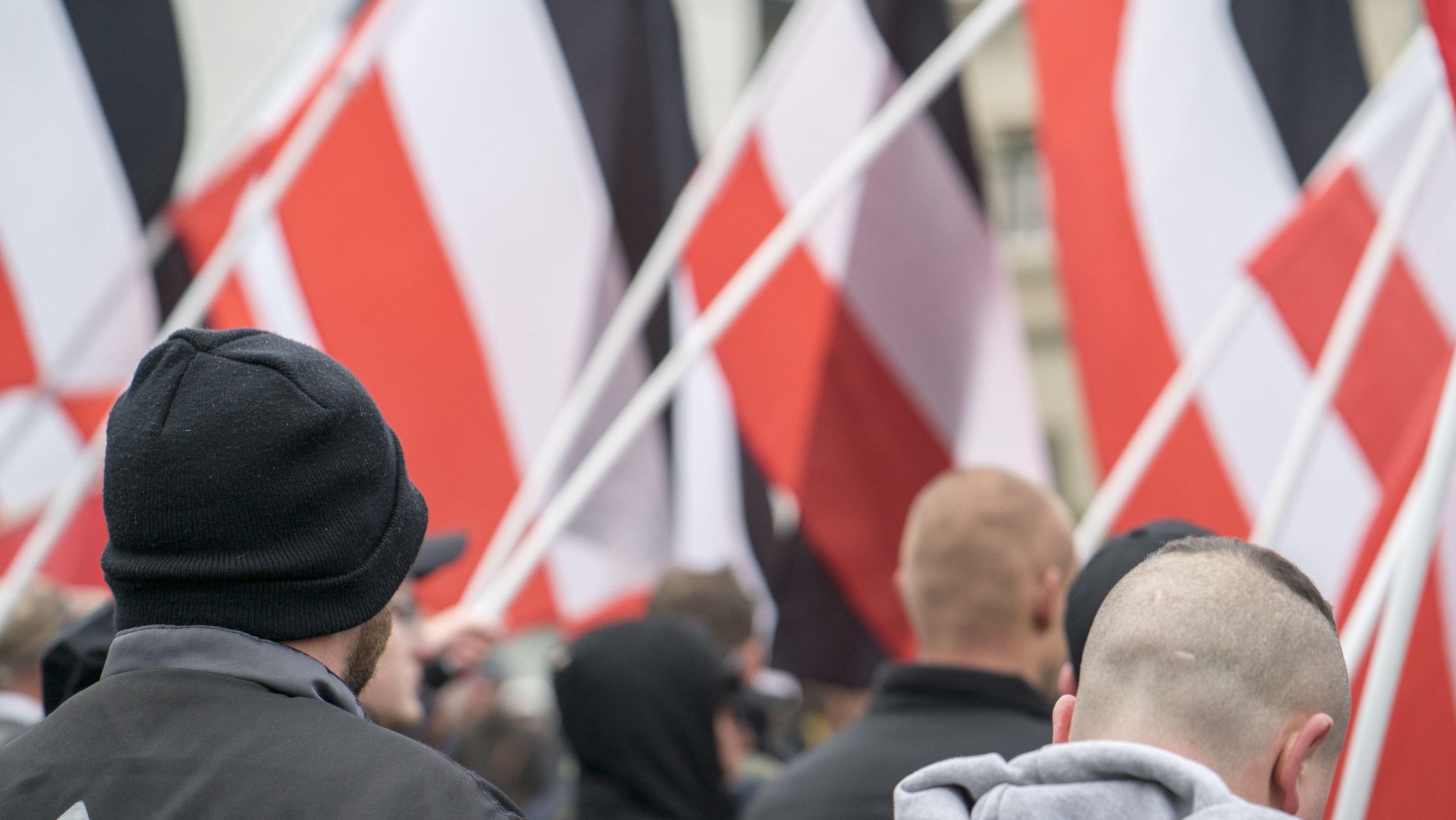 Rechtsextremistische Kundgebung