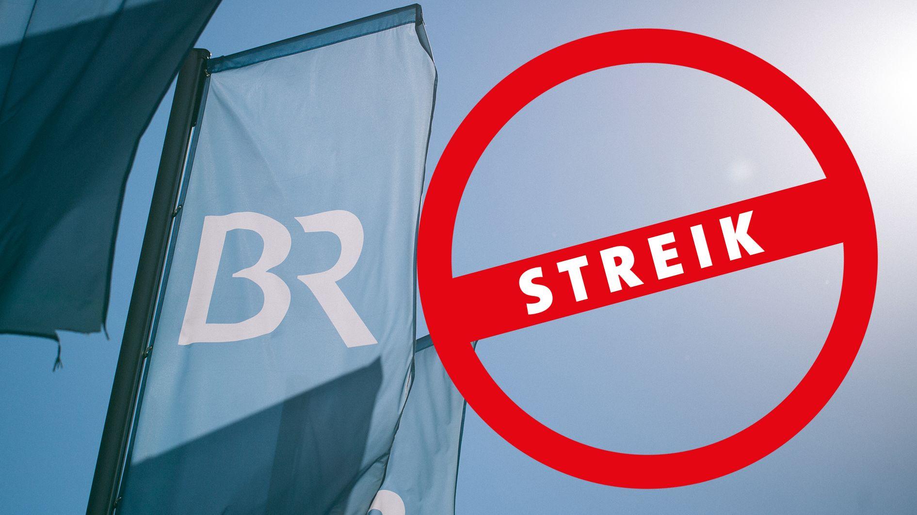 Die Gewerkschaften BJV und ver.di haben die Mitarbeiter des BR für Mittwoch zum Streik aufgerufen.