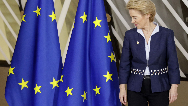 Wie geht es weiter nach dem Brexit? EU  EU-Kommissionspräsidentin Ursula von der Leyen wünscht sich eine gute Nachbarschaft mit Großbritannien.