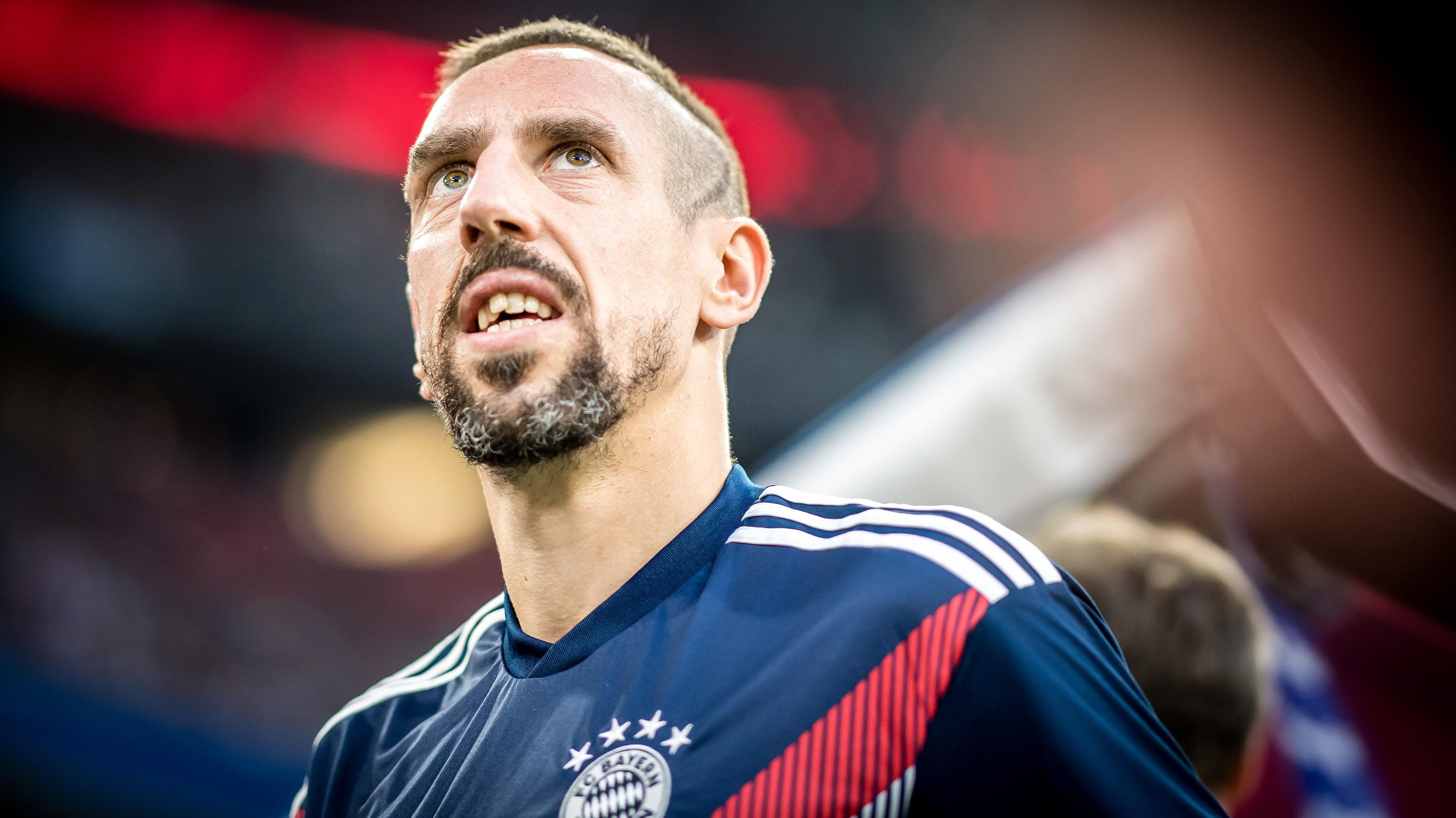 Franck Ribéry vom FC Bayern