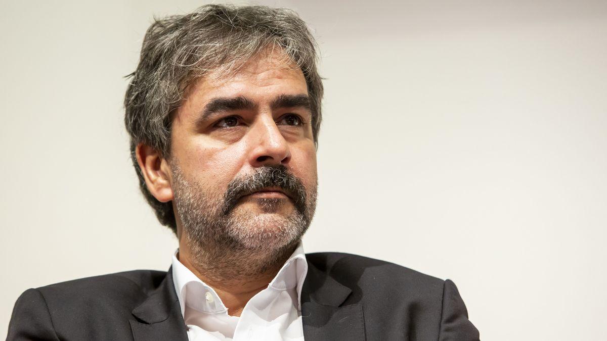 Archivbild: Der Journalist Deniz Yücel 2019 auf der Frankfurter Buchmesse.