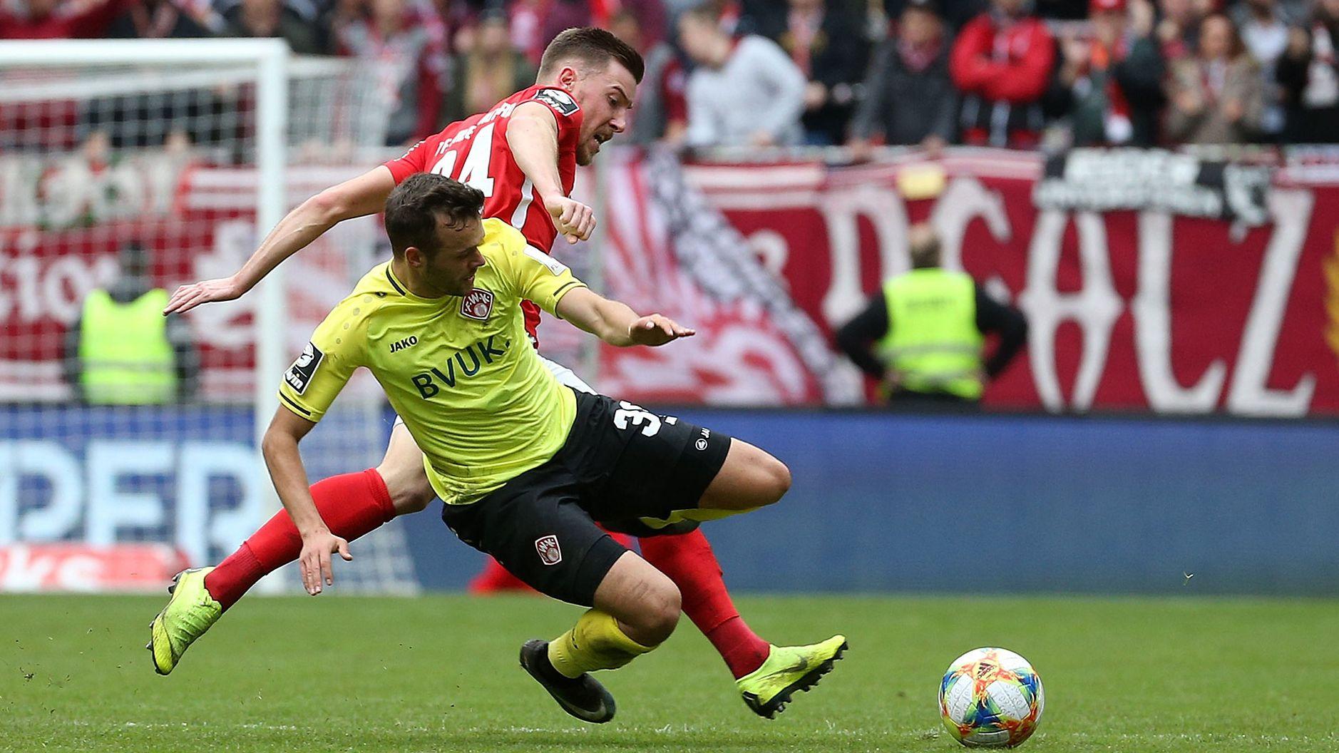 Spielszene 1. FC Kaiserslautern - Würzburger Kickers
