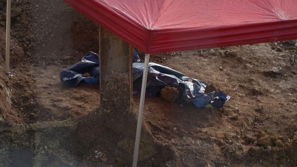 Die Fliegerbombe in Regensburg-Kumpfmühl wurde bei Bauarbeiten entdeckt