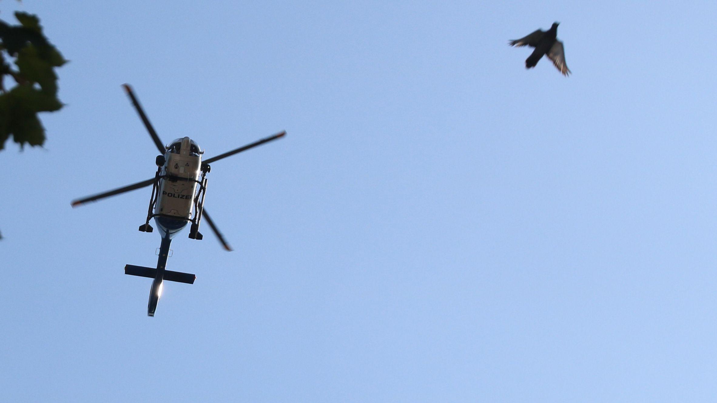 Hubschrauber-Fahndung nach Memminger Ausbrechern