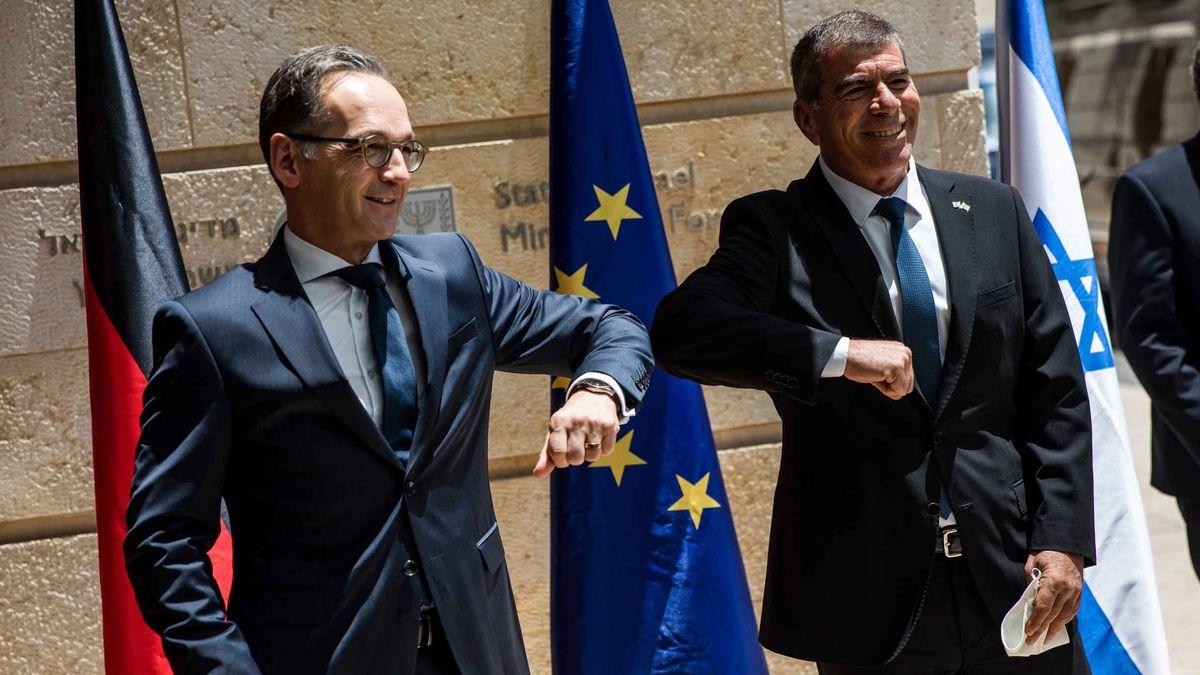 Außenminister Maas trifft seinen Amtskollegen Gabi Ashkenazi.