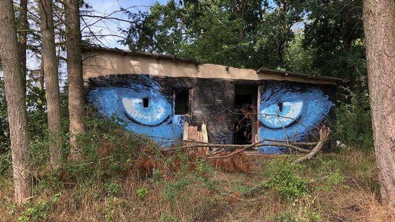 """Die """"Hidden Gallery"""" in Lonnerstadt von außen"""