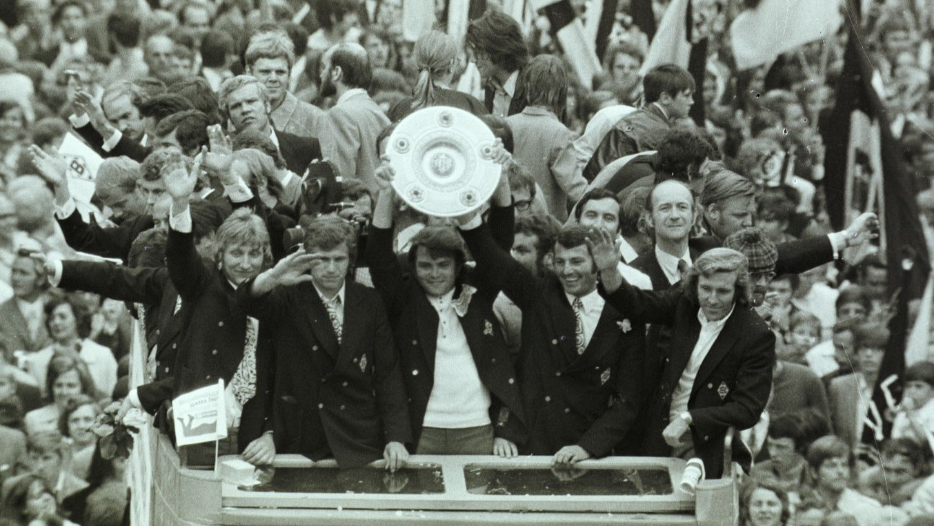 Borussia Mönchengladbach Deutscher Meister 1970/71