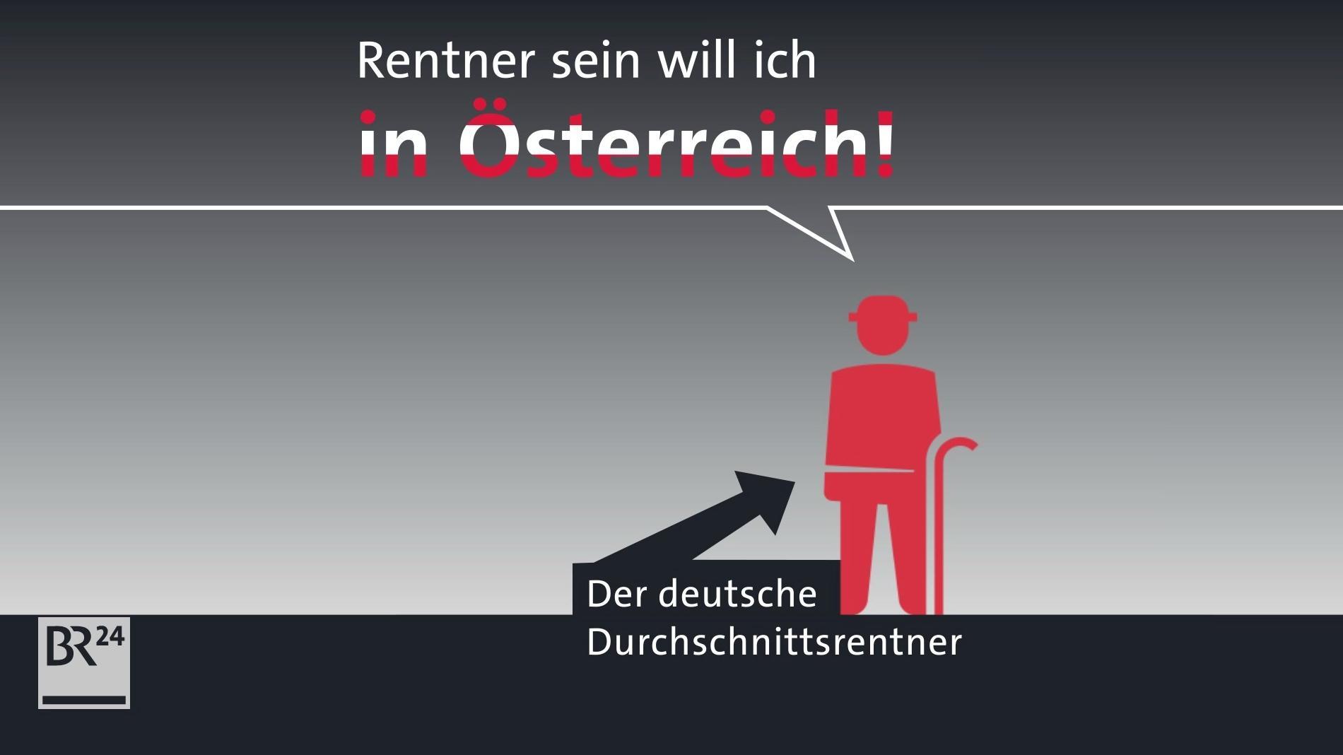 #fragBR24💡 Wieso kriegen österreichische Rentner so viel mehr?