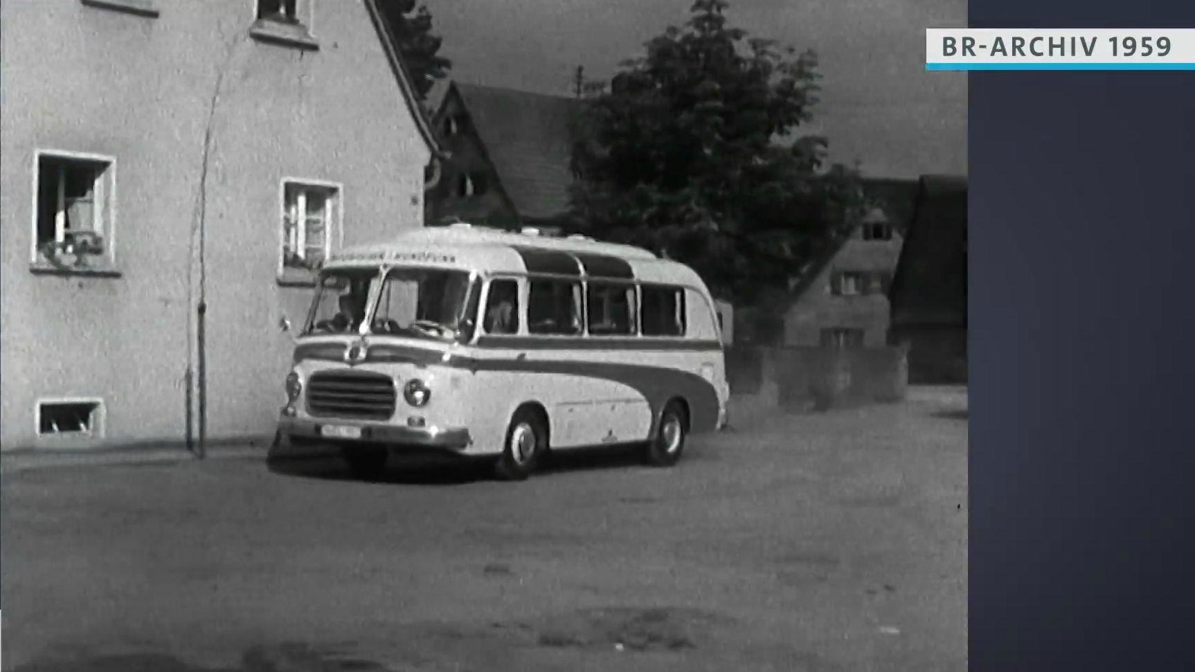 Ü-Wagen des Bayerischen Rundfunks