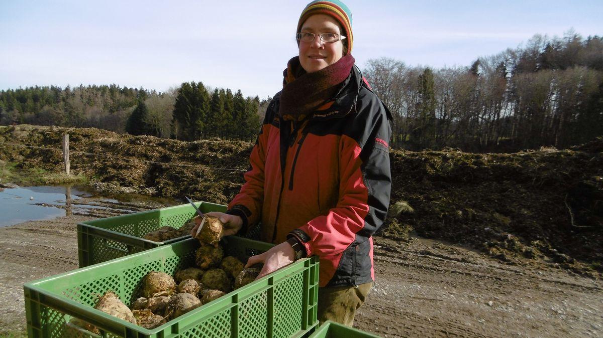 Angelika Gsellmann, Gründerin von SoLaWi Ebersberg.