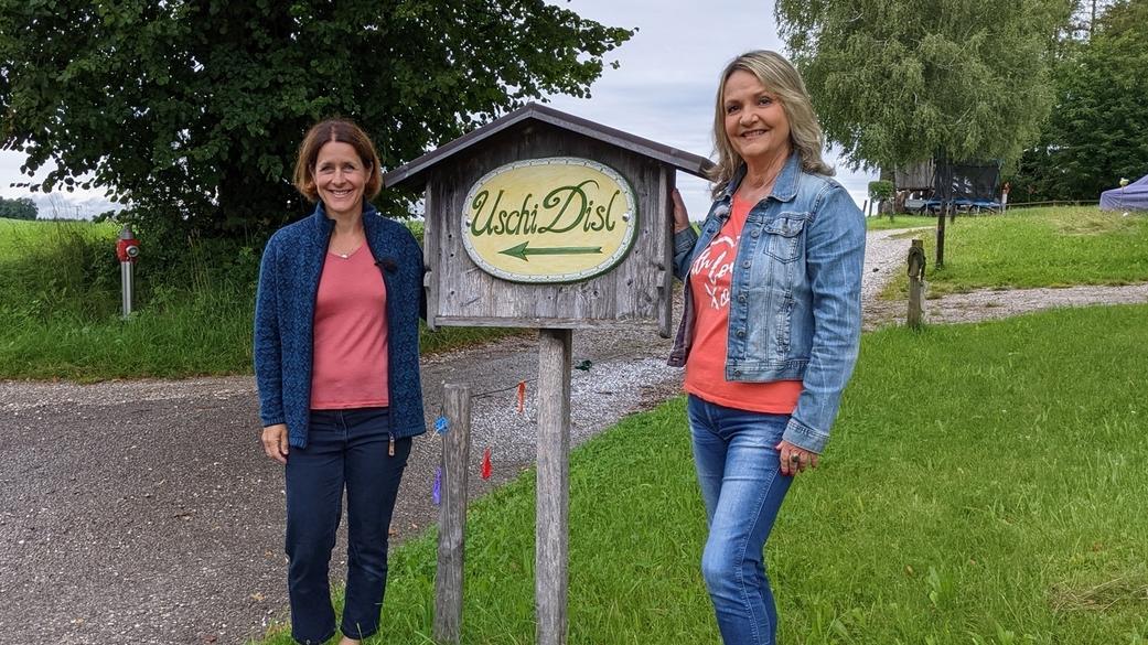 Uschi Disl (links) und Marianne Kreuzer