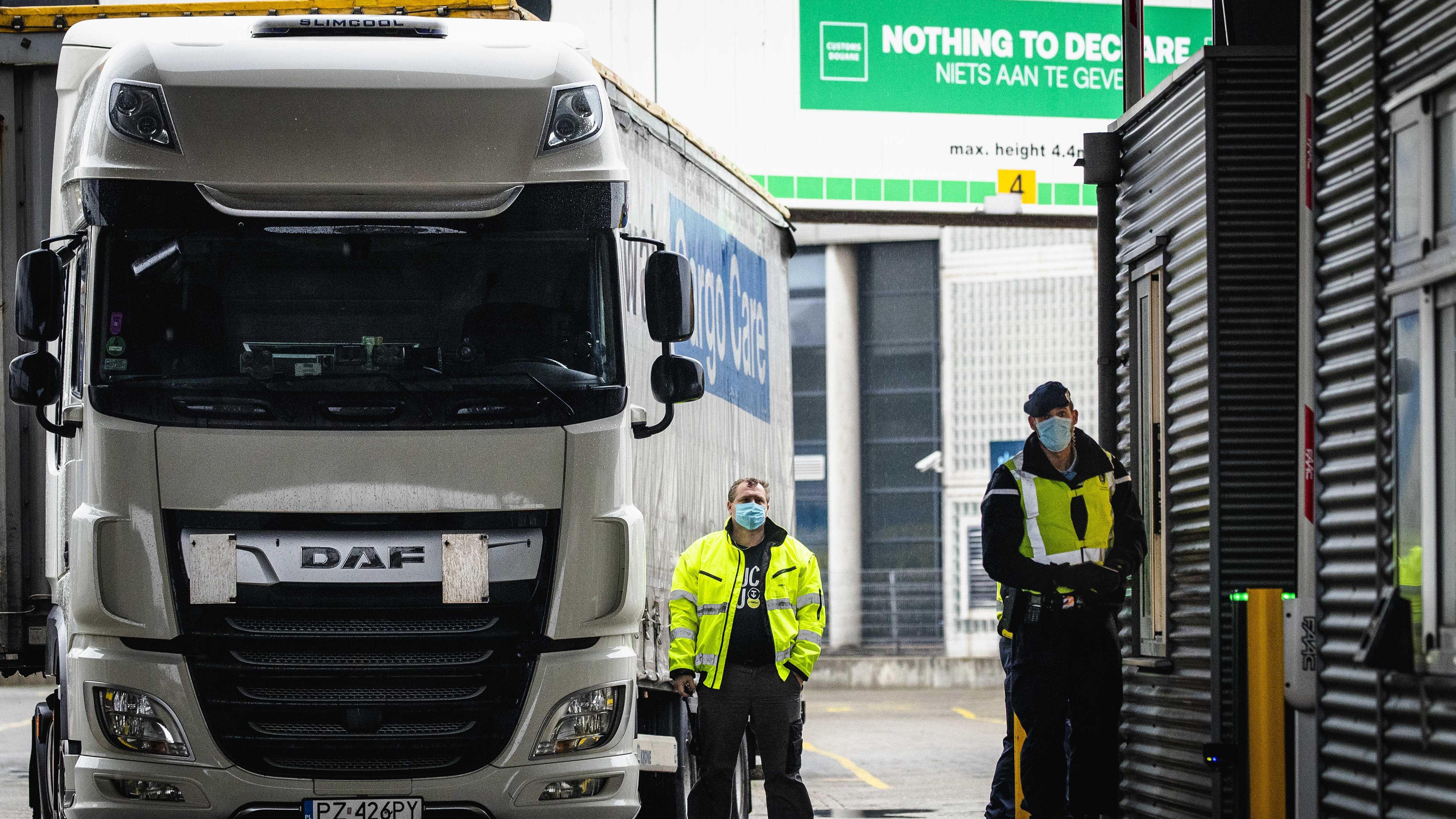 Nach Brexit: Der komplizierte Frachtverkehr zwischen GB und EU
