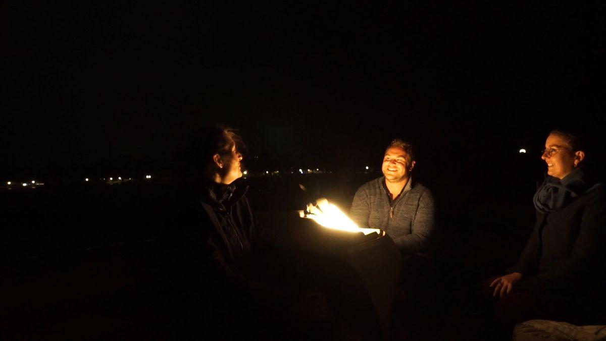 Gestern Nacht war die weltweit erste Earth Night. Die Idee dazu hatte ein Physiker und Astronom aus Rimsting.