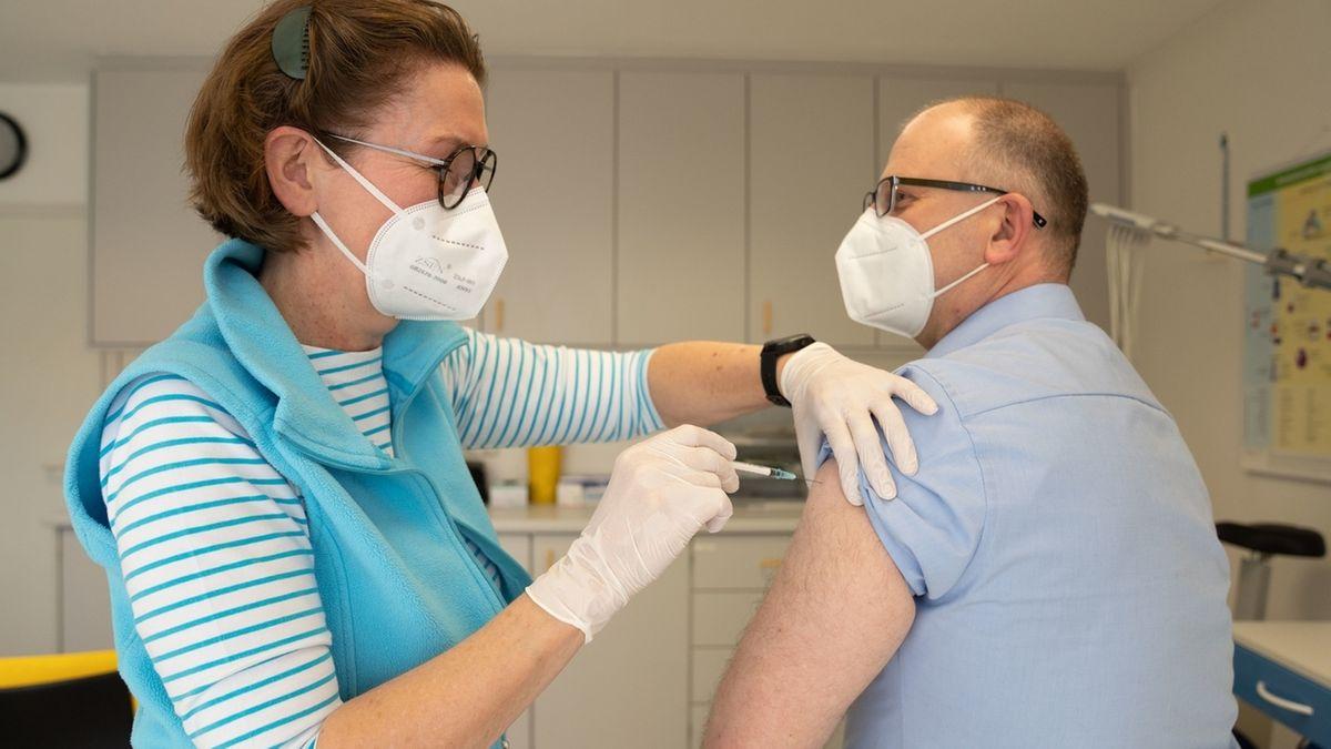 Coronavirus - Impfung im Landkreis Hof beim Hausarzt
