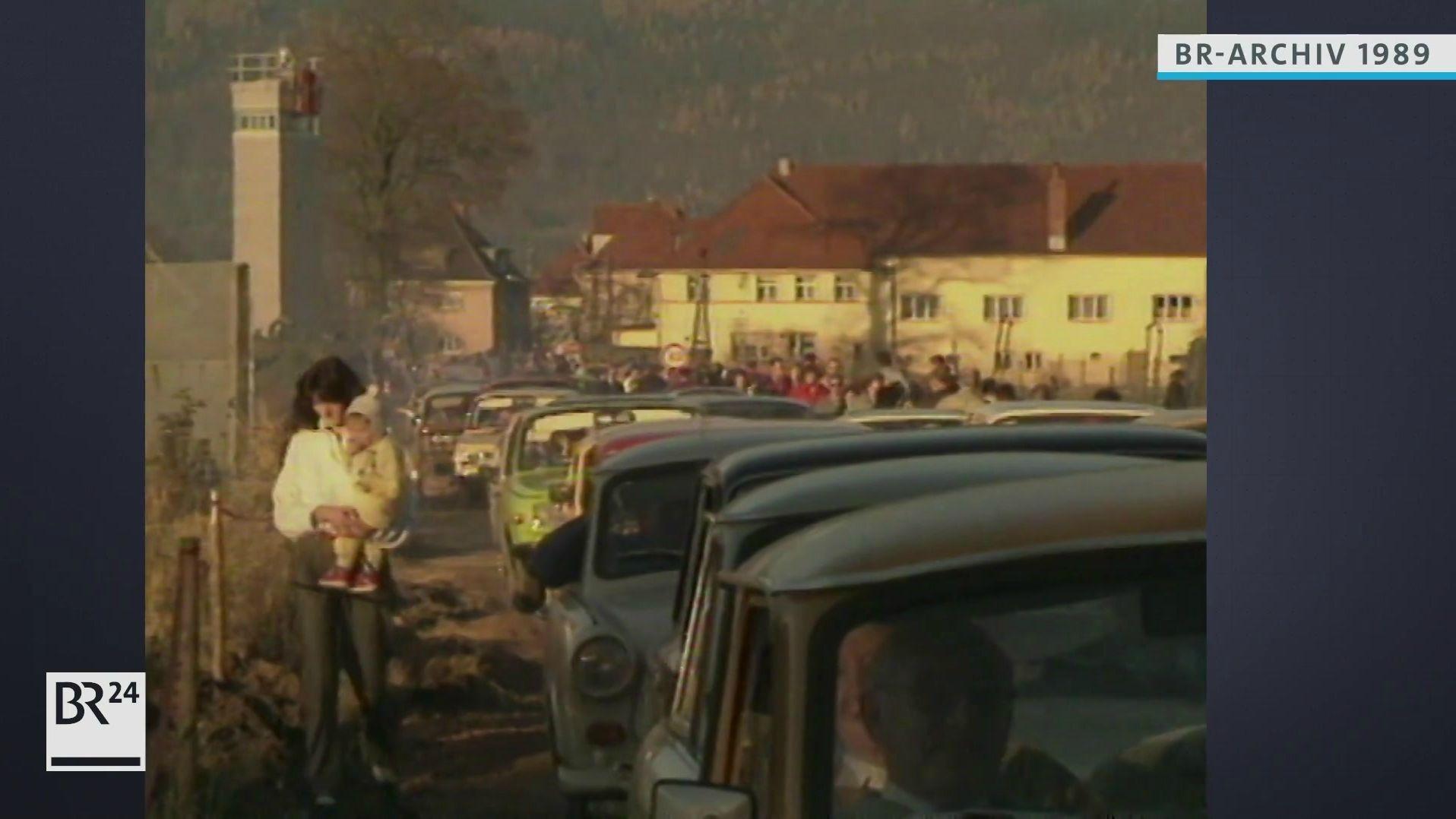 Grenzübergang bei Neustadt Coburg