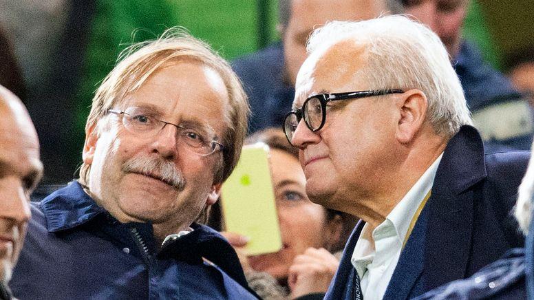 Rainer Koch und Fritz Keller | Bild:picture-alliance/dpa