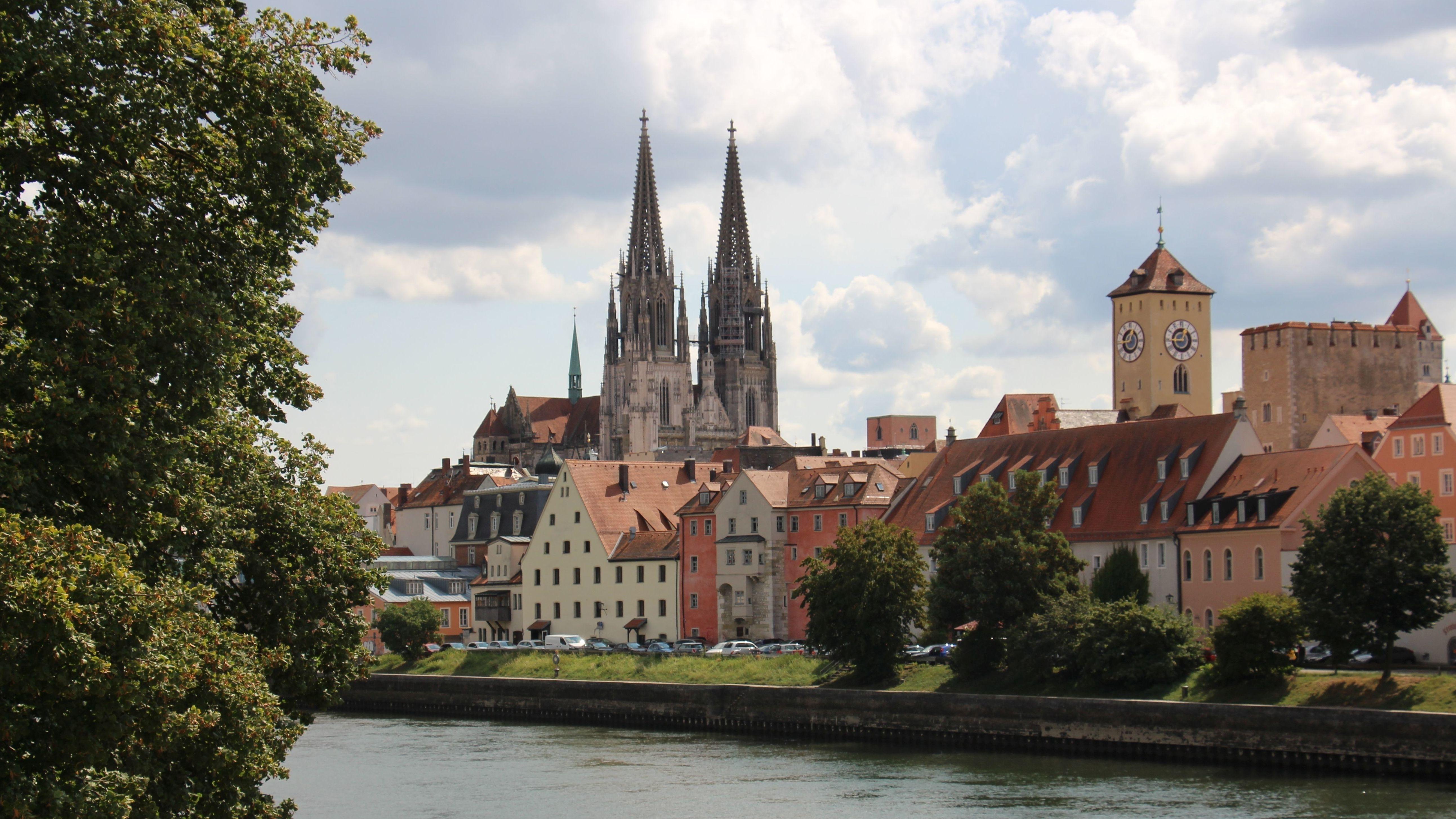 Stadt Regensburg mit Dom